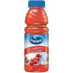 Cranberry Juice -16oz