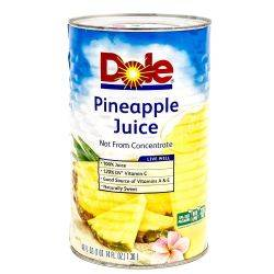 Dole Pineapple Juice - 46oz can