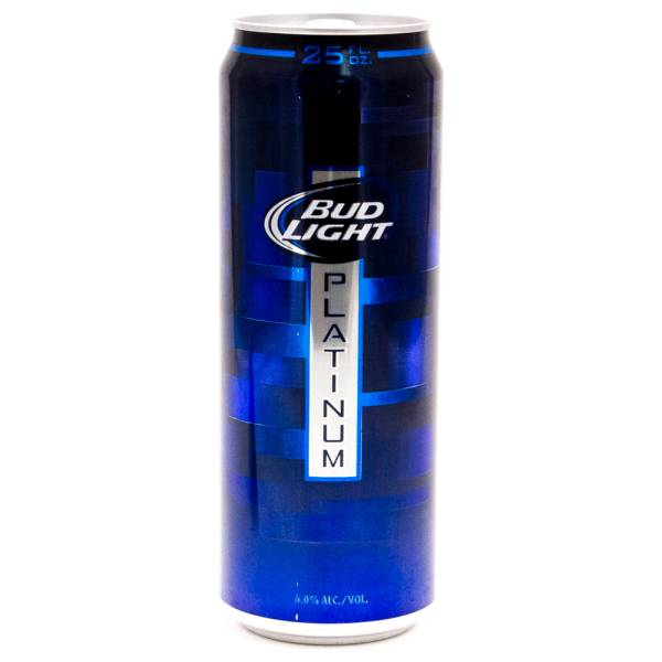 Bud Light   Platinum   25oz Can