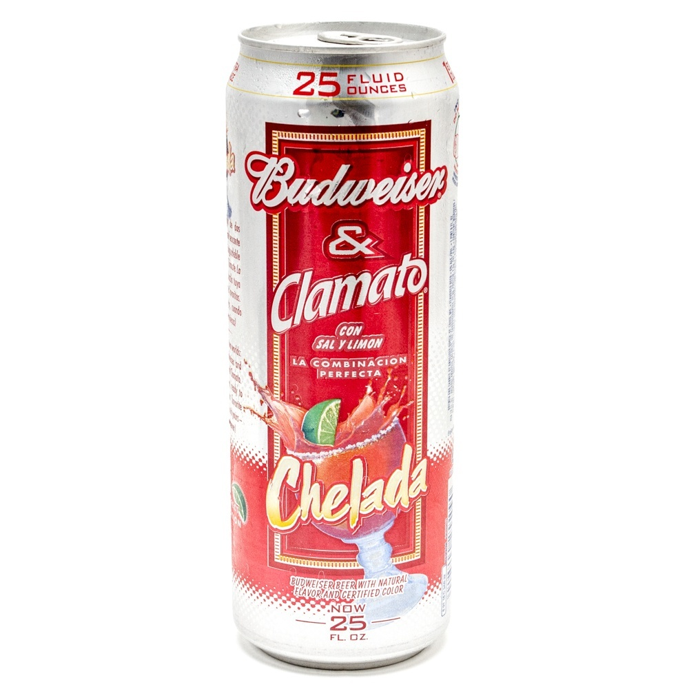 Budweiser & Clamato - Salt & Lime Chelada - 25oz Can