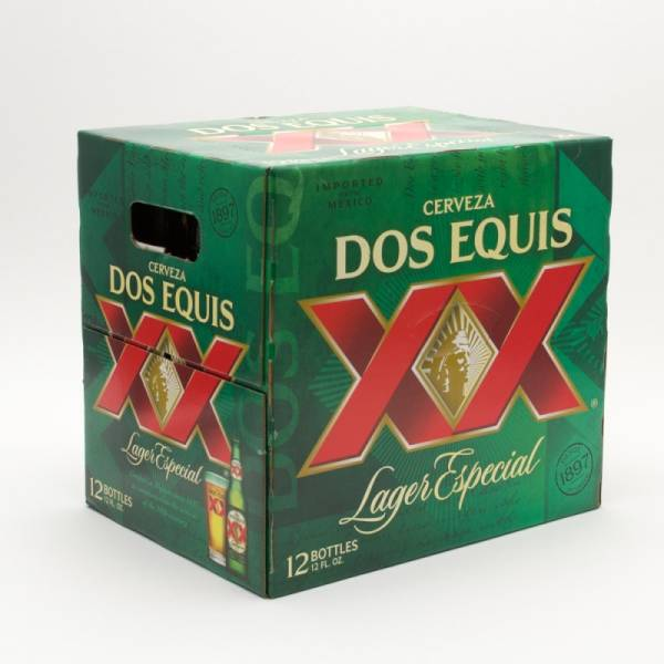 Dos Equis XX - Lager Especial - 12oz Bottle - 12 Pack