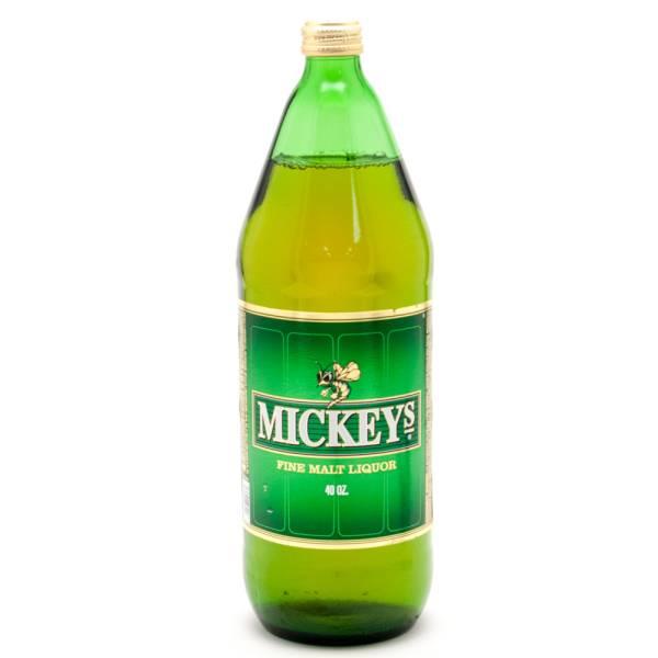 Mickeys - Fine Malt Liquor - 40oz Bottle