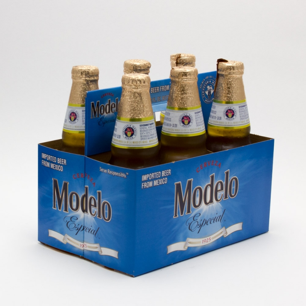 Modelo Especial - Imported Beer - 12oz Bottle - 6 Pack
