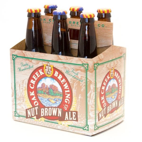 Oak Creek - Nut Brown Ale - 12oz Bottle - 6 Pack