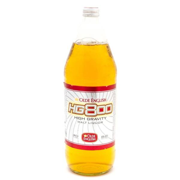 Olde English - HG 800 - High Gravity Malt Liquor - 40oz Bottle