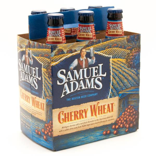Samuel Adams - Cherry Wheat - 12oz Bottle - 6 Pack