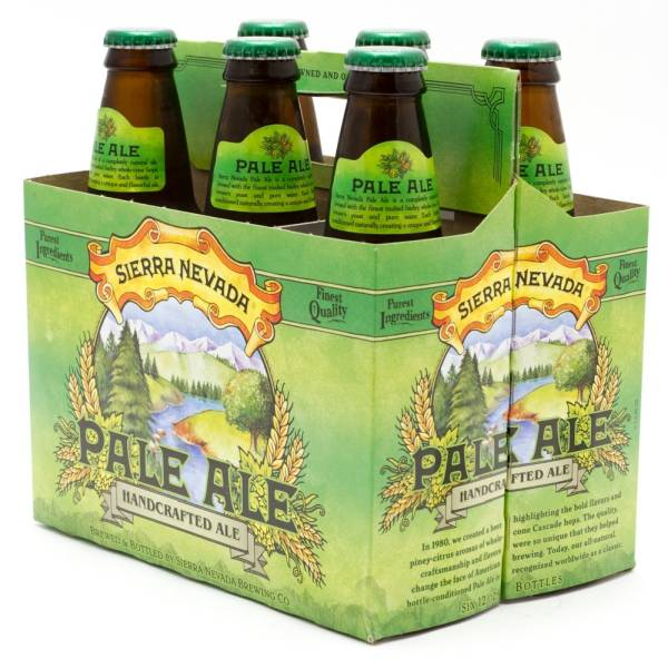 Sierra Nevada - Pale Ale - 12oz Bottle - 6 Pack