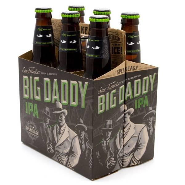 Speakeasy - Big Daddy IPA - 12oz Bottles - 6 pack