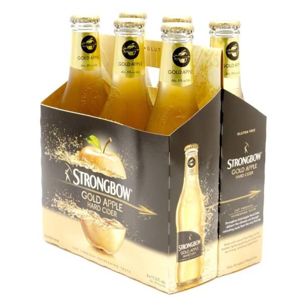 Strongbow - Gold Apple Hard Cider - 12oz Bottle - 6 Pack