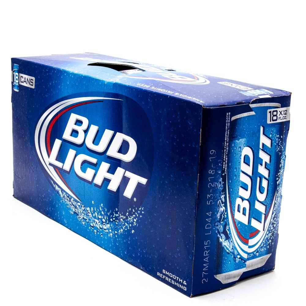 Superb Bud Light   12oz Can   18 Pack Idea