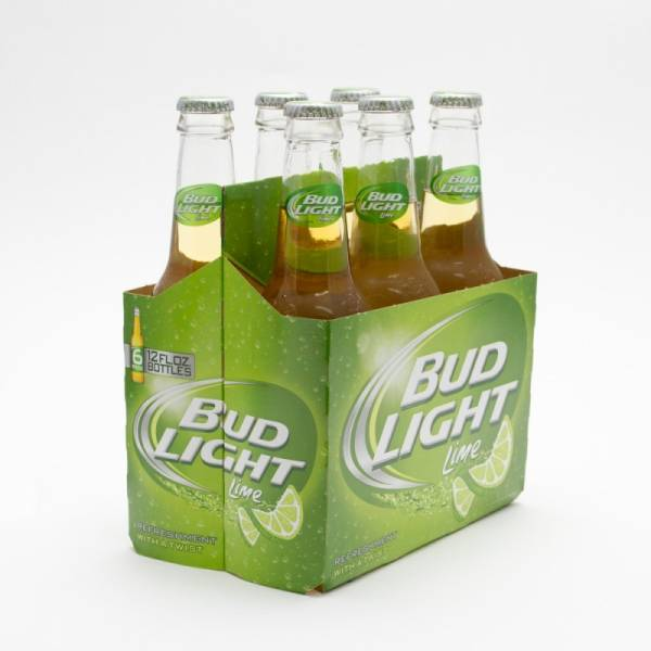 Bud Light Lime - 12oz Bottle - 6 Pack
