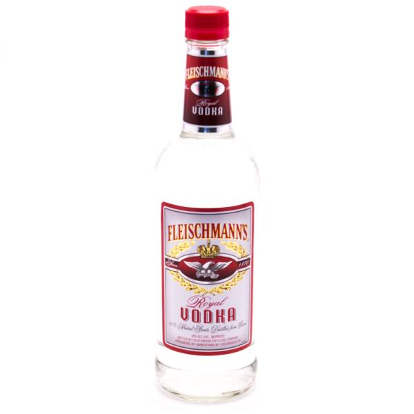 Fleischmann's - Royal Vodka - 80 Proof - 750ml