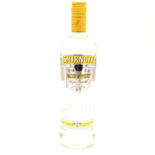 Smirnoff - Passionfruit Vodka - 750ml | Beer, Wine and ...