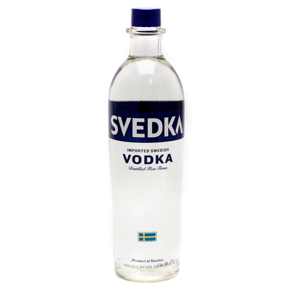 Svedka - Imported Swedish Vodka - 750ml