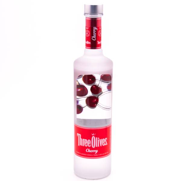 Three Olives - Cherry Vodka - 750ml
