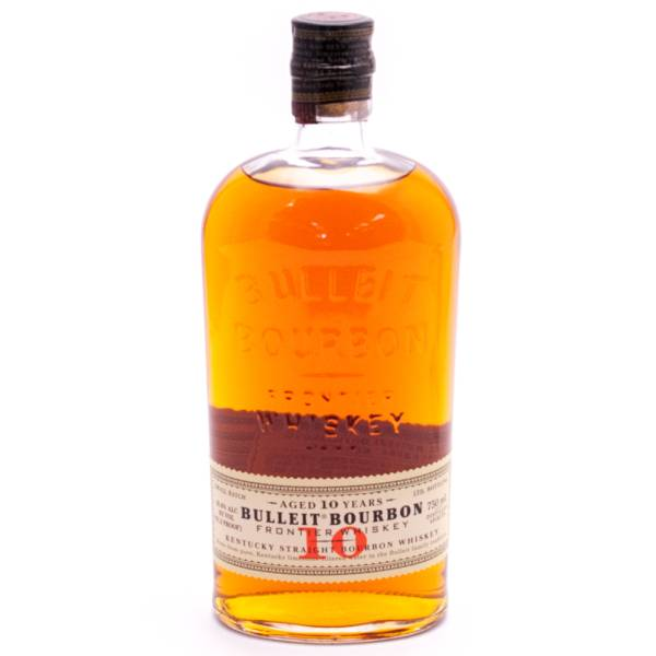 Bulleit - Bourbon Whiskey Aged 10yrs 91.2 Proof - 750ml