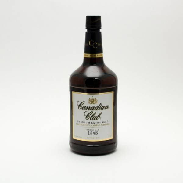 Canadian Club - Blended Canadian Whisky - 1.75L