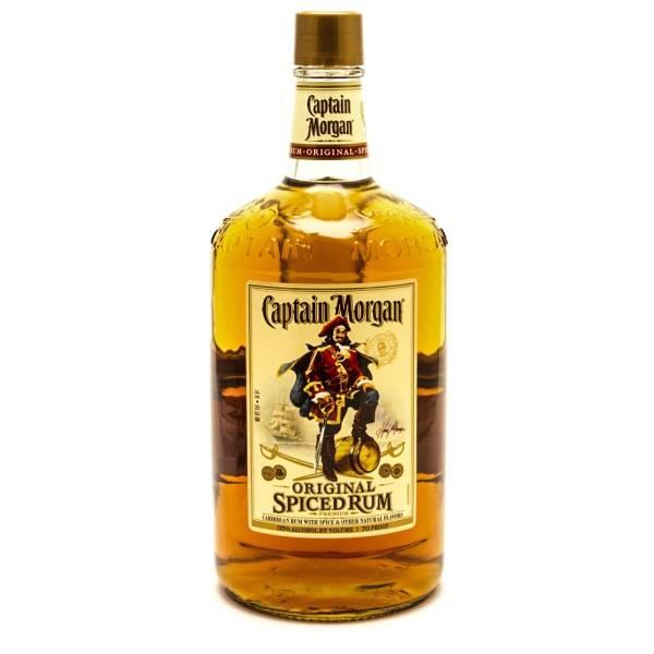 Captain Morgan - Original Spiced Rum - 1.75L