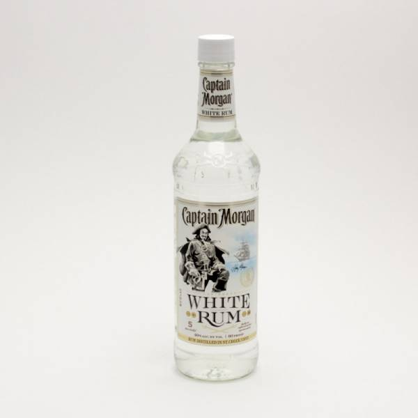 Captain Morgan - White Rum - 750ml
