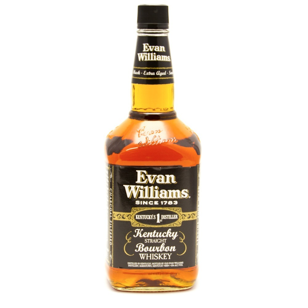 Evan Williams - Kentucky Straight Bourbon Whiskey 1.75L
