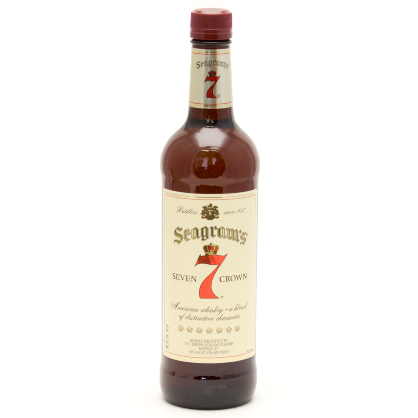 Seagram's - 7 Seven Crown American Blended Whiskey - 750ml