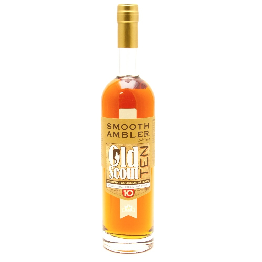 Smooth Ambler - Old Scout 10 Straight Bourbon Whiskey - 750ml