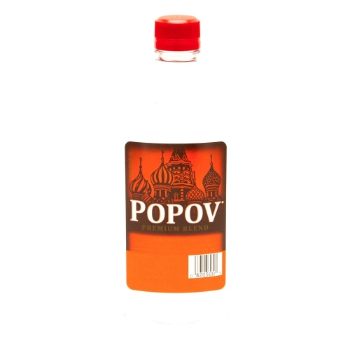 Popov Vodka - 375 ml - Pint