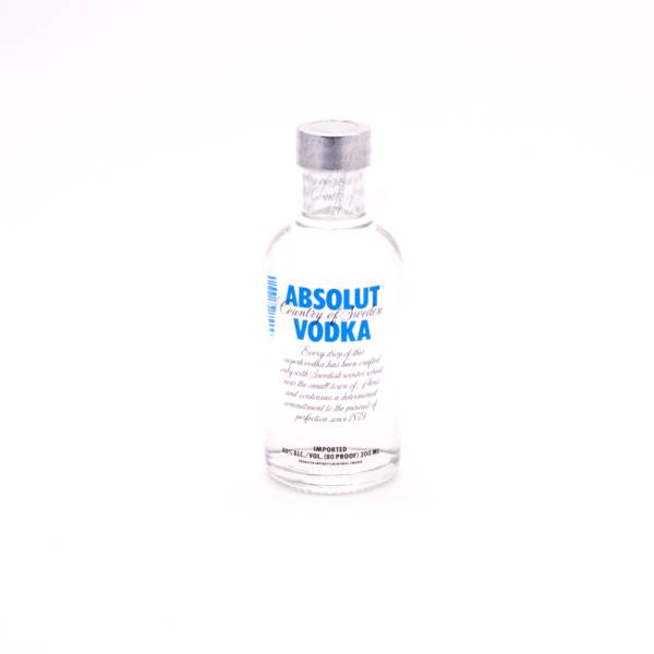 Absolut - Vodka - Blue 80 Proof - 200ml