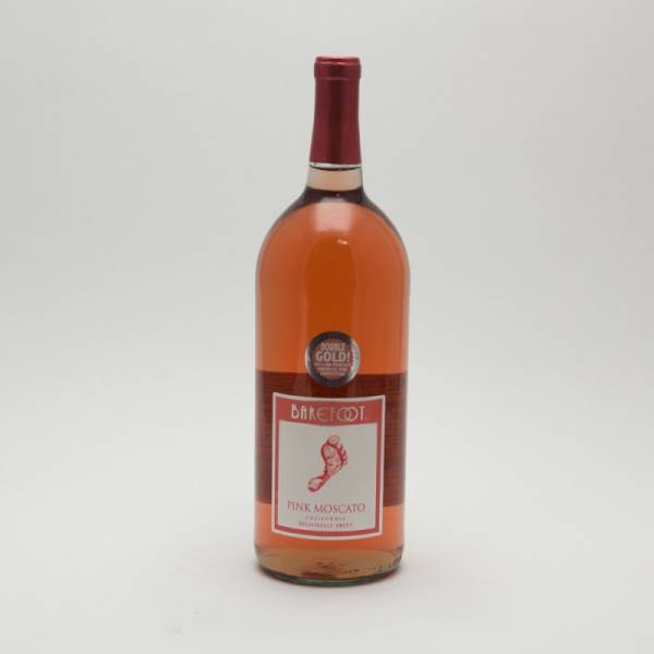 Barefoot - Pink Moscato - 1.5L
