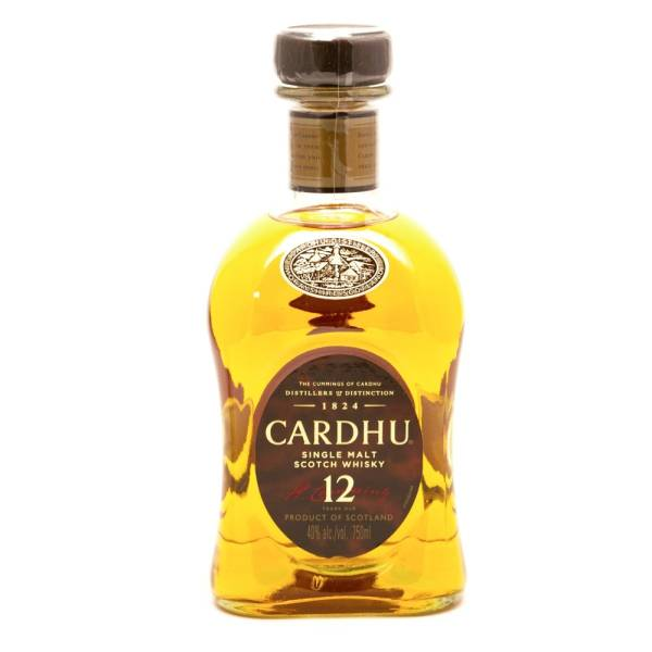 Cardhu - Single Malt Scotch Whiskey - 12 Years Old - 750ml