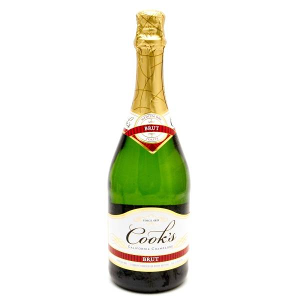 Cooks - Brute California Champagne - 750ml