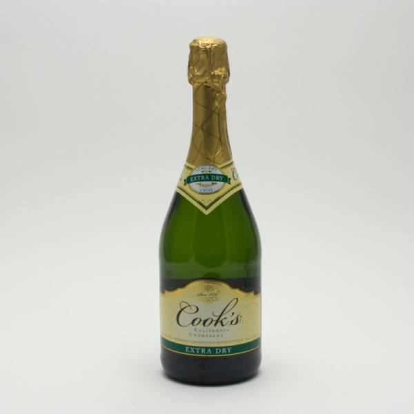 Cook's - Extra Dry California Champagne - 750ml