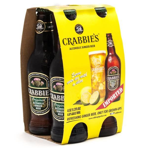 Crabbie's - Alcoholic Ginger Beer - 12oz Bottle - 4 Pack