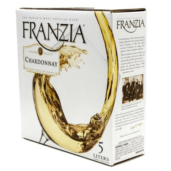 Franzia - Chardonnay - Box Wine - 5L