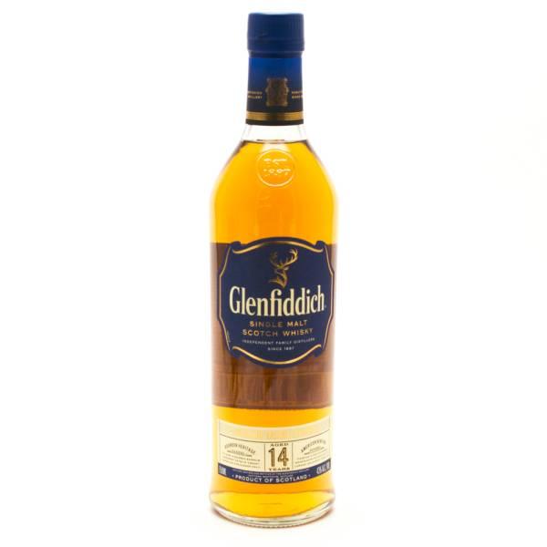 Glenfiddich - 14 Years Old Single Malt Scotch Whisky - 750ml