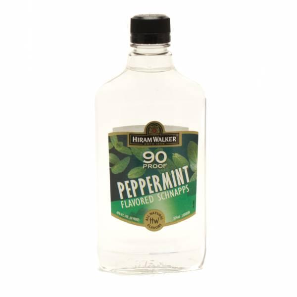 Hiram Walker - 90 Proof - Peppermint Schnapps - 375ml