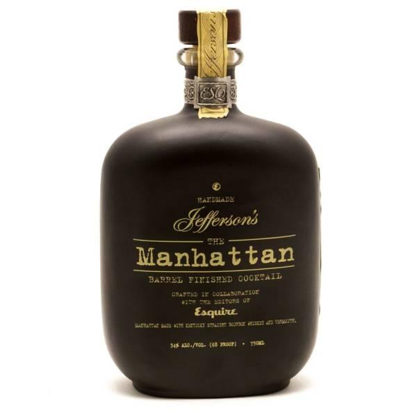 Jefferson's - The Manhattan Barrel Finished Cocktail - 750ml