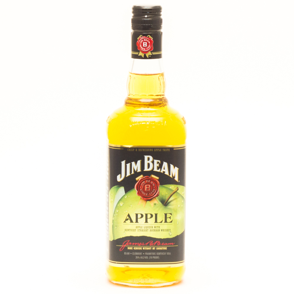 Jim Beam - Apple - Kentucky Straight Bourbon Whiskey - 750ml
