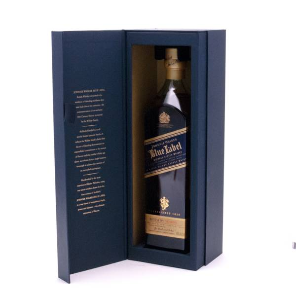 Johnnie Walker - Blue Label - Blended Scotch Whisky - 750ml