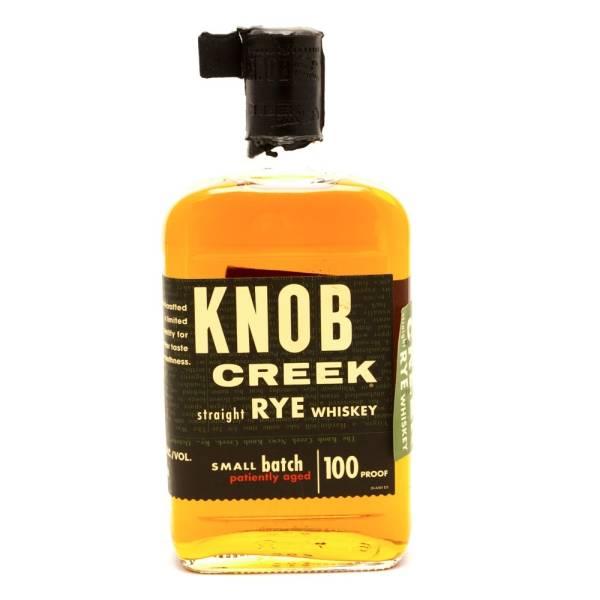 Knob Creek - Small Batch - Straight Rye Whiskey - 750ml