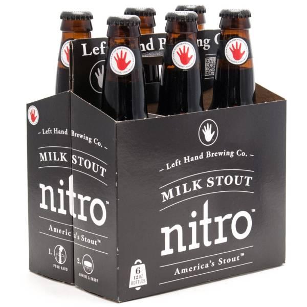 Left Hand - Nitro Milk Stout - 12oz Bottle - 6 Pack