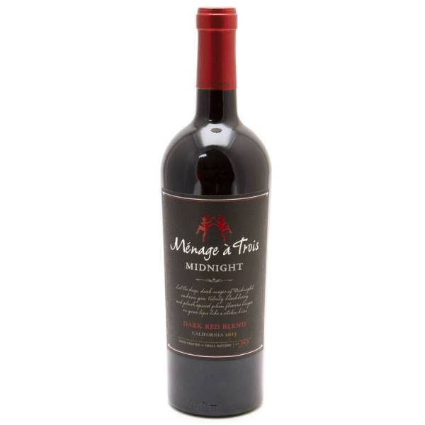 Menage a Trois - Midnight California Red Blend 2013 - 750ml