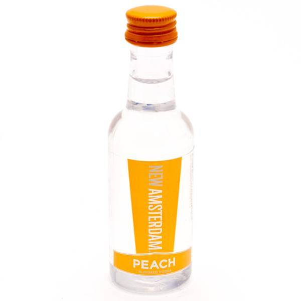 New Amsterdam - Peach Vodka - Mini 50ml
