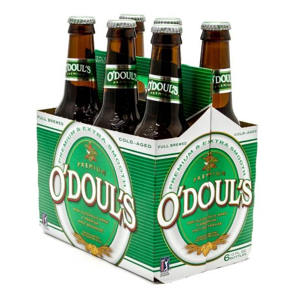 O'Doul's - Non-Alcoholic Brew Malt Beverage - 12oz Bottle - 6 Pack