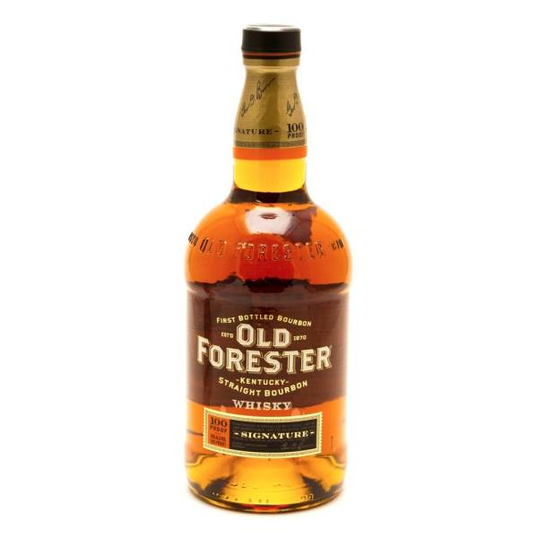 Old Forrester - Signature Kentucky Straight Bourbon Whiskey - 100 Proof - 750ml