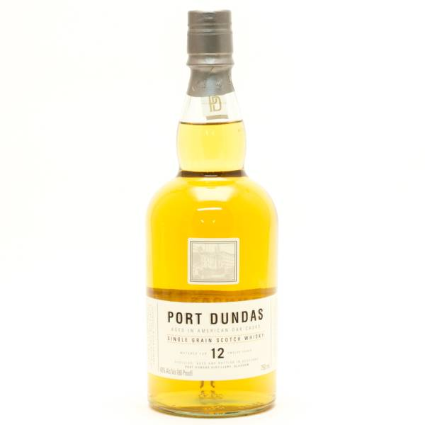 Port Dundas - Aged  12 Years - Single Grain Scotch Whisky - 750ml