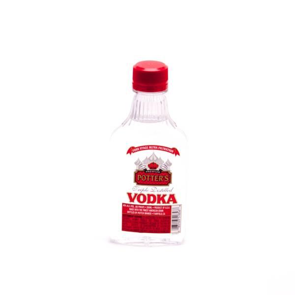 Potter's - Triple Distilled Vodka - 200ml