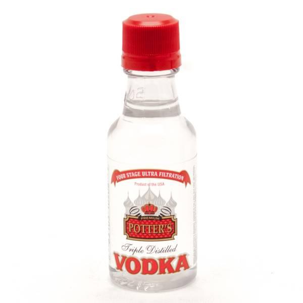 Potter's - Triple Distilled Vodka - Mini 50ml