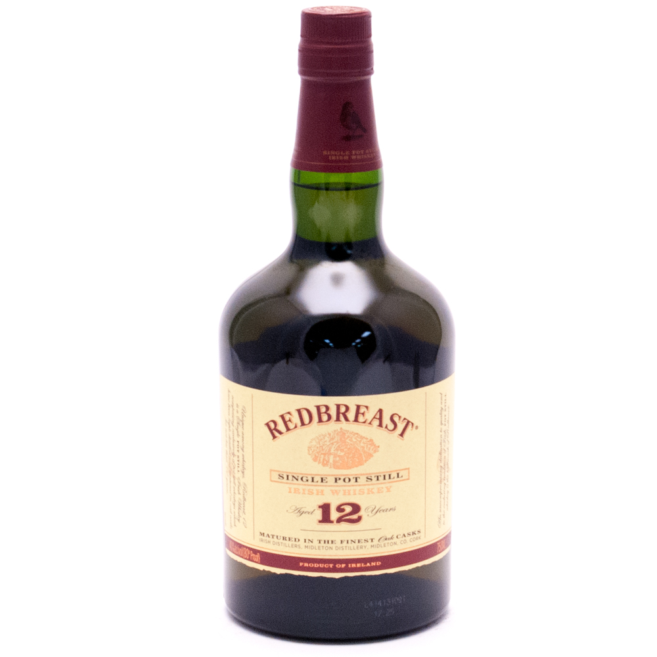 Redbreast - Single Pot Still Irish Whiskey - Aged 12 Years - 750ml