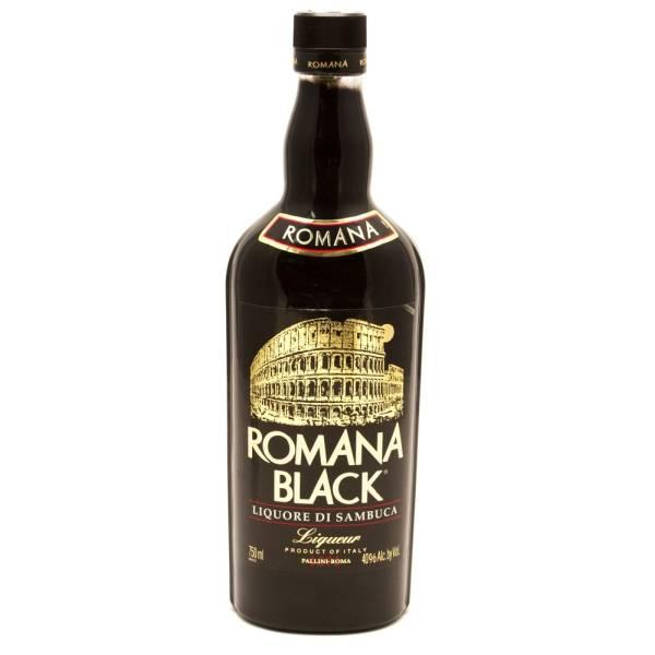 Romana Black - Liquore Di Sambuca - 750ml